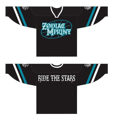 Zodiac MPrint Ride The Stars Hockey Jersey