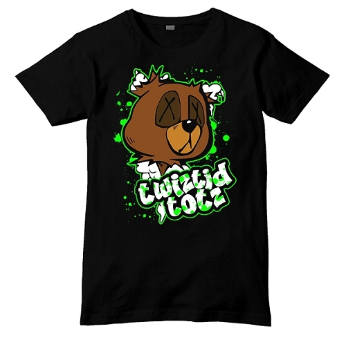 YOUTH Twiztid Totz Teddy Bear Head Shirt
