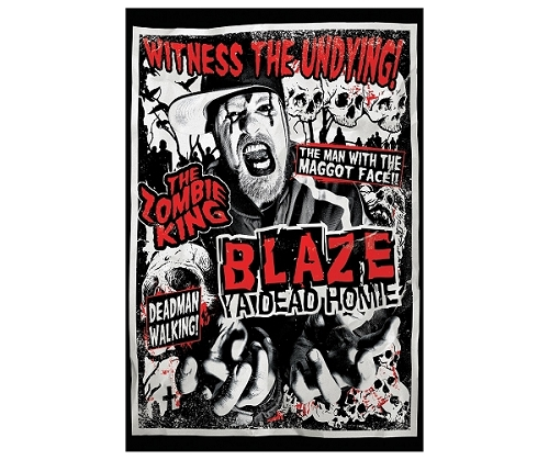 Blaze Witness The Undying Poster 24x36