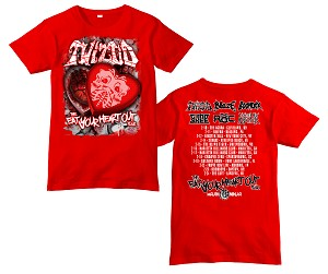 Twiztid Be My Bloody Valentine 2017 Show Shirt