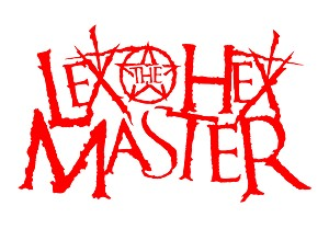 Lex The Hex Master Red 6 inch Vinyl sticker