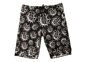 Majik Ninja Logo All Over Board Shorts