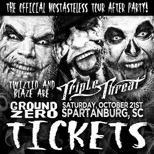 Triple Threat After Party Ticket SPARTANBURG, SC 10/21/17