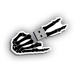 Triple Threat Skeleton Hand USB