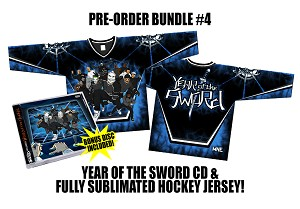 Twiztid Presents: Year Of The Sword Double Disc Pre Order CD Sublimated Jersey Bundle #4