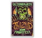 Fright Fest Reaper Worester Screen Printed Poster