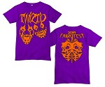 Purple Orange Faces Shirt